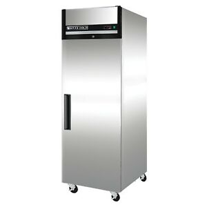Maxx Cold Single 1 One Door Commercial Upright Reach in Refrigerator Cooler 23cf