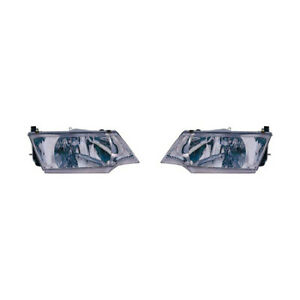 Fits 1998 Nissan 200sx Headlight Pair Lh Rh Bulbs Incl Ni2502125 Ni2503125