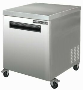 Chef s Exclusive 29in 1 Single Door Commercial Undercounter Refrigerator Cooler