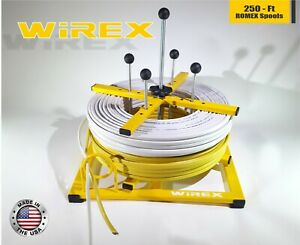 Wirex Electrical Wire And Cable Dispenser Romex Bx Rolls Spools