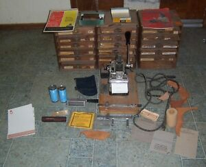 Kingsley Hot Foil Stamping Machine With Stamp Sets