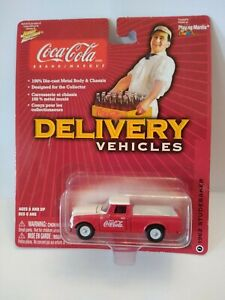 Coca Cola Johnny Lightning Delivery Vehicles #7 1962 Studebaker NIP from 2004