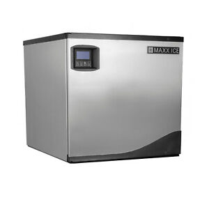 Maxx Ice 22 Inch Wide Commercial Modular Clear Ice Maker Machine 360 Lb Per Day
