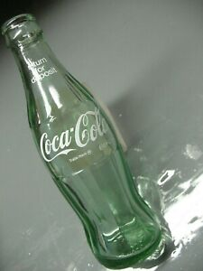 VINTAGE COCA  COLA MONEY  BACK   BOTTLE 6.5 oz  BOSTON  MASS 749