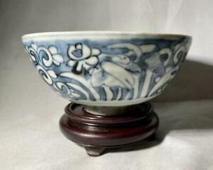 Ming Wanli Blue And White Chinese Porcelain Bowl