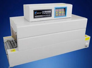 Digital Control Panel Thermal Heat Shrink Packaging Machine Tunnels For Pvc poft