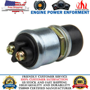 12v Waterproof Car Boat Track Switch Push Button Horn Engine Starter 60 40 Amps