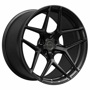 19 Brixton Forged Rf7 Black 19x9 5 Wheels Rims Fits Mercedes benz C63 Amg