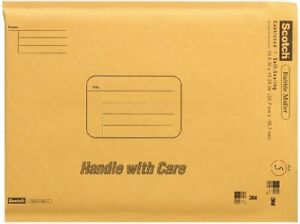 Scotch Bubble Mailer 10 5 X 15 25 inches Size 5 25 pack New Free Shipping
