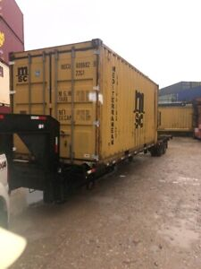 Used 20 Dry Van Steel Storage Container Shipping Cargo Conex Seabox New Orleans