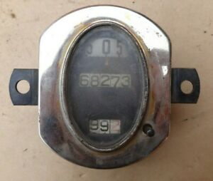 1928 1929 1930 Model A Ford Oval Speedometer Original Stewart Warner