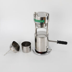 Manual Hydraulic Sugar Cane Press Juicer Juice Machine Commercial Extractor