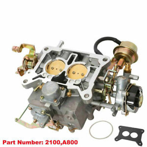 Two 2 Barrel Carburetor Carb 2100 A800 For Ford 289 302 351 Cu Jeep Engine A
