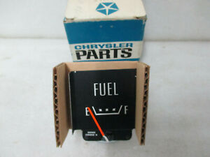 Mopar Nos 1970 Dodge Polara Monaco Fuel Gauge 2984929