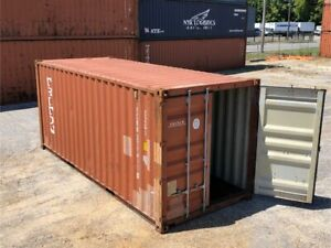 Used 20 Dry Van Steel Storage Container Shipping Cargo Conex Seabox Oakland