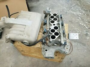 5 0 Gt40 Upper Lower Intake Manifold Mustang 94 95 With 24lb Fuel Injectors