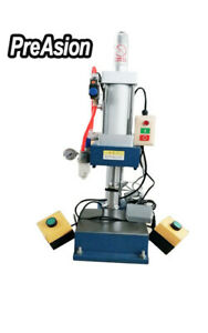 Preasion Pneumatic Punching Press Machine For Sheet Metal Hole 660 Pounds New
