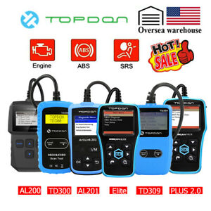 Automotive Obd Code Reader Obd2 Scanner Car Engine Abs Airbag Srs Reset Tools