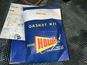 Holley 1954 Oem Carburetor Repair Kit 2 Barrel 239 V8 Engine