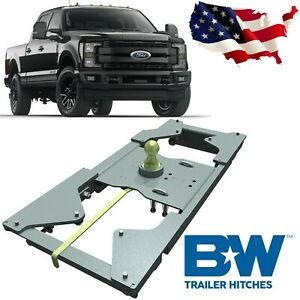 B W Hitches Gnrk1116 Turnoverball Gooseneck Hitch Fits 17 2019 Ford F 250 F 350