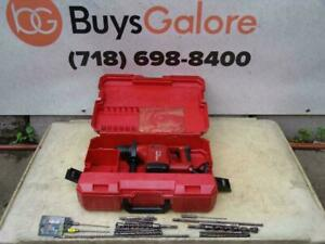 Hilti Te 14 Rotary Hammer Drill With Bits Works Well