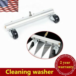 High Pressure Car Under Body Chassis Washer Spray Nozzle Water Gun Clean Usa