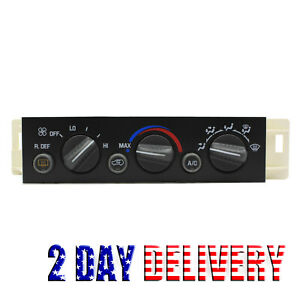 A C Heater Climate Control For 96 00 Chevy Suburban Tahoe Gmc Yukon 9378805