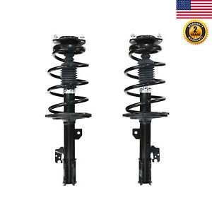 For 2007 2008 2009 2010 Toyota Sienna Awd Fwd Front Pair Complete Shock