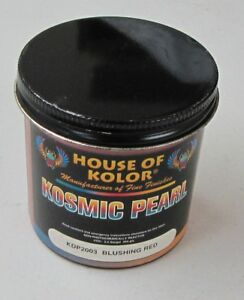 2 Oz House Of Kolor Kdp2003 Blushing Red Pearl Discontinued New