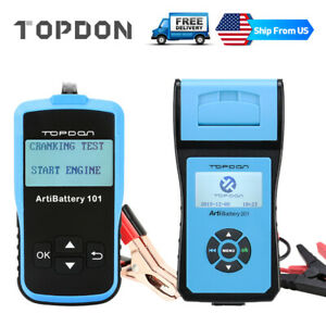 12v 24v Load Battery Tester Digital Analyzer Universal Car Diagnostic Scan Tool