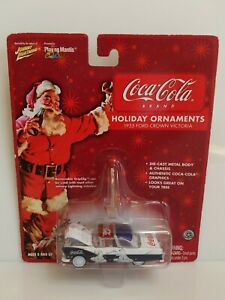 Rare Johnny Lightning Coca-Cola 1955 Ford Crown Victoria White Lightning Chase