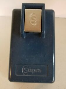 Supra indigo Window mount Keybox Lock Box Auto Dealership Carmax No Key
