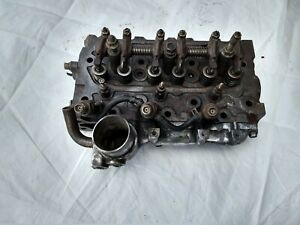 Yanmar 3 Cylinder Diesel Engine Cylinder Head With Valves Valve Springs