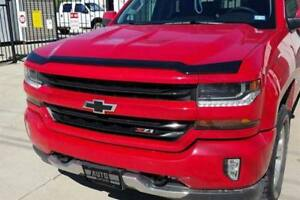 Avs 16 18 Chevy Silverado 1500 Aeroskin Low Profile Acrylic Hood Shield Smoke