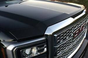 Avs 14 18 Gmc Sierra 1500 Aeroskin Low Profile Acrylic Hood Shield Smoke