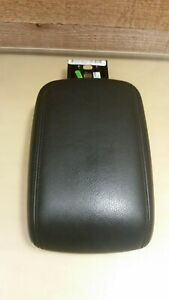 Oem 2012 2014 Ford Focus Center Armrest Console Cover Lid Black Leather
