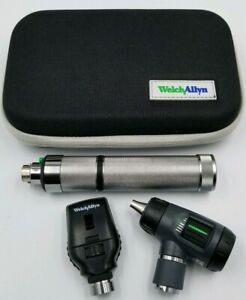 Welch Allyn Diagnostic Set Macroview Otoscope Ophthalmoscope Plugin Handle Euc