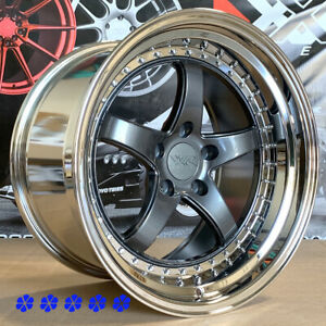 Xxr 565 Wheels 18x8 5 10 5 20 Graphite Staggered 5x4 5 98 03 Ford Mustang Cobra