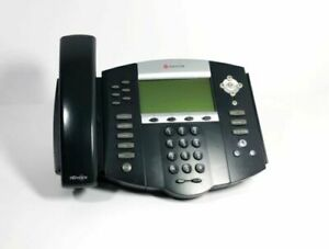 New Polycom Soundpoint Ip650 Sip Phone With Stand Handset Power Supply