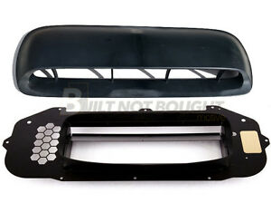 Genuine Oem Jdm Sti Hood Scoop W Grimmspeed Splitter For Subaru 02 03 Wrx