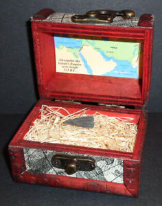 Ancient Greek Bronze Arrowhead With Display Chest From 300 100 B C