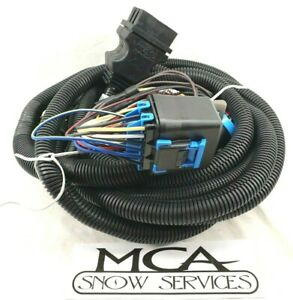 Boss Oem Snow Plow 13 Pin Harness 4 Sealed Relay Main Truck Side Wiring Msc04316
