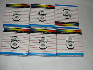 lot Of 6 Ibm Selectric Ii Iii Lift Off Tape Corrector Ribbons 2 Pack Of 6
