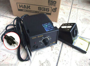110v 936 Soldering Station 907 Handle Iron 1321 Heater Heating Core 900m t tips