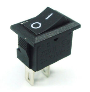 500pcs New Spst On off Square I o Rocker Switch Mini Small Automotive car boat A