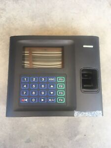 Timetrak Bio Fingerprint Employee Biometric Time Attendance Clock Used