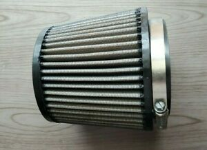 K N 4 Round Tapered Universal Air Intake Cone Filter Reusable Truck Suv Car