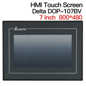 7 Inch Delta Dop 107bv Hmi Touch Screen Panel Machine Ethernet Interface Usb