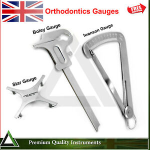 Orthodontics Gauges Dental Measuring Teeth Positioning Gauges Dentist Lab Tools