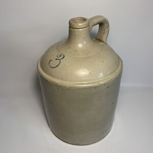 Antique Red Wing Union Stoneware 3 Three Gallon Jug 3